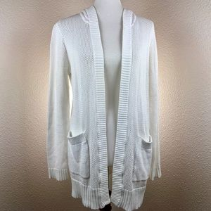 Michael Kores Knitted Open Cardigan Size M